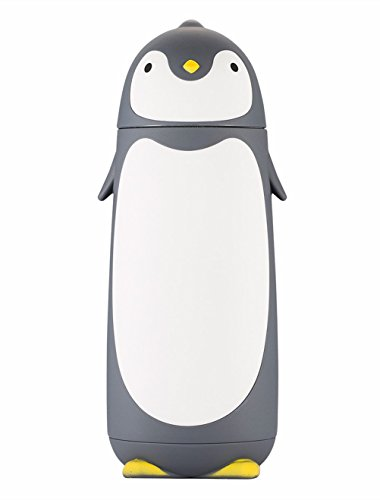 ater Bottle Stainless Steel Cartoon Penguin Cup Insulated Mug Vacuum Flask 280ML (Penguin Water)
