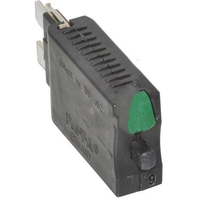 6a Circuit Breakers - E-T-A Circuit Protection and Control 1170-21-6A , Circuit Breaker; Therm; Push; Cur-Rtg 6A; Plug-In; 1 Pole; Vol-Rtg 28VDC; Blade Snap