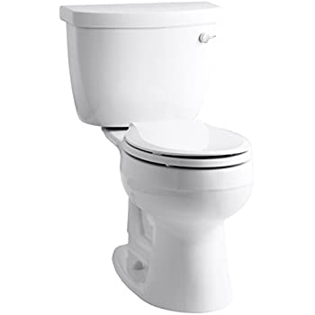 Kohler K 3887 Ur 0 Cimarron Comfort Height Two Piece Round