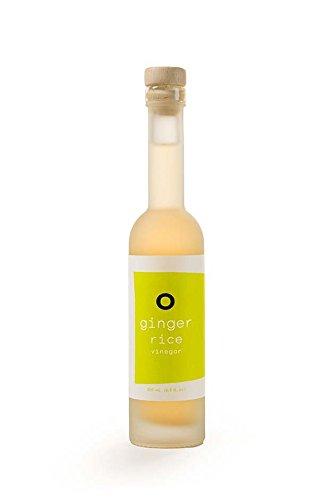 Ginger Rice Vinegar - O OLIVE OIL & VINEGAR Ginger Rice Vinegar, 6.76 Fluid Ounce