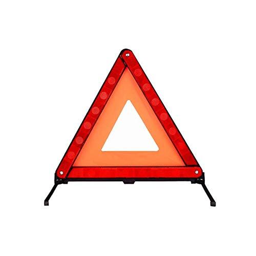 Waarschuwingsdriehoek, opvouwbare noodreflector aan de kant van de weg gevarenbord driehoek met opbergkoffer
