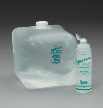 CS/4 - Ultrasound Gel Aquasonic Clear Econopac Transmission 5 Liter Cubitainer, 03-54