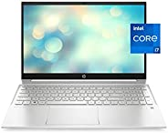 HP Pavilion 15 Laptop, 11th Gen Intel Core i7-1165G7 Processor, 16 GB RAM, 512 GB SSD Storage, Full HD IPS Mic