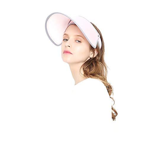 VVC Sun Hats for Women UV Protection Caps Beach Visor Goddess Hat On TV (Pink)