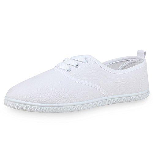 napoli-fashion - Zapatillas Mujer Weiß