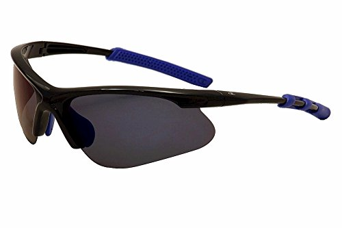 Champion Men's Black polycarbonate Rectangular Sunglasses - Champion Polarized Sunglasses