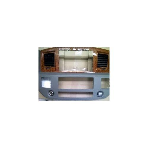 Dodge Ram Khaki Mopar SLT Woodgrain Navigation Radio Bezel - 5JZ121J8AC ()