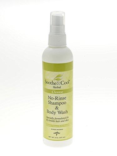 Medline MSC096440 Soothe and Cool Herbal Shampoo and Body Wash, 8 oz (Pack of 12) (Medline Wash)