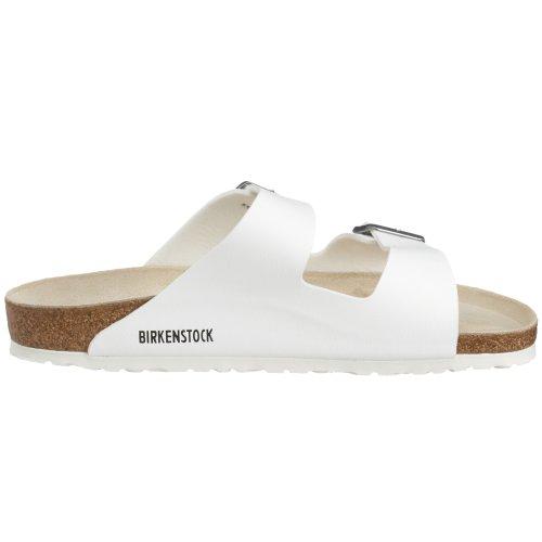 Birkenstock - Sandalias con hebilla unisex Blanco