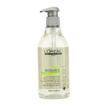 Professionnel Expert Serie - Pure Resource Purifying Shampoo 500ml/16.9oz by L'Oreal Paris