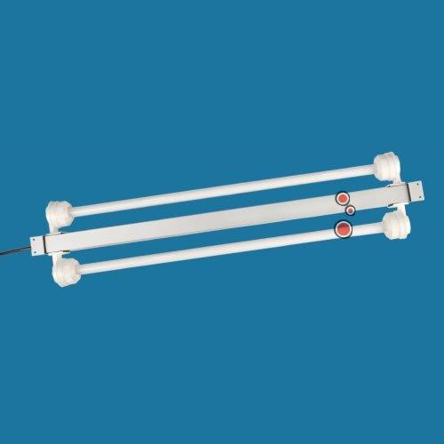 TAB T5 Leuchtbalken Alu dimmbar mit Steuerung 2x 39 Watt / Länge ca. 935mm