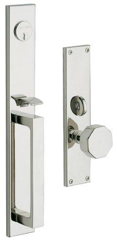 (Baldwin Hardware 6570.260.FD Atlanta Set Trim Front Door Handle)