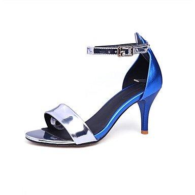 LvYuan las sandalias de las mujeres del resorte de los zapatos del club de verano del zurriago de fiesta al aire libre&noche Gold