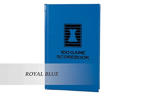 The House of Staunton Luxury Hardcover Chess Scorebook - by US Chess Federation (Royal Blue)