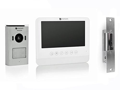 7 Zoll LCD Bildschirm und T/ür/öffner Einparteien T/ürsprechanlage mit Kamera Set