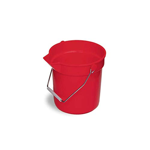 Continental 8110RD Huskee Red 10 qt Bucket