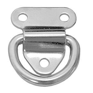 316 Marine Grade Folding Pad Eye 1 Piece 2 in by SeaLux Marine Products