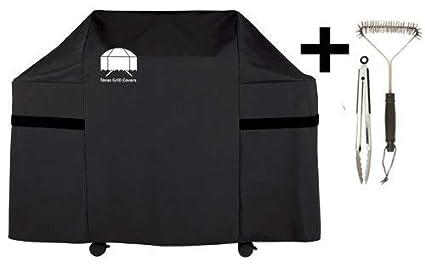 Texas Grill Covers 7553. Funda Premium para Weber Genesis E y S Series Parrillas de Gas, Incluyendo Cepillo y Pinzas
