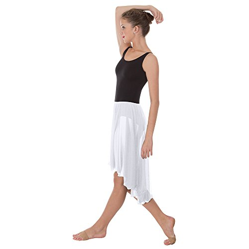 Body Wrappers Womens SKIRT 989 -WHITE M-L