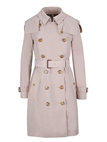 - BURBERRY Women's 8006113 Pink Polyester Trench Coat
