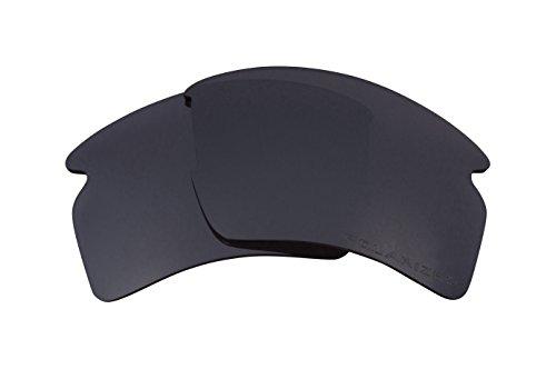 Seek Optics Replacement Lenses for Oakley FLAK 2.0 XL, Black Iridium - Lenses Iridium