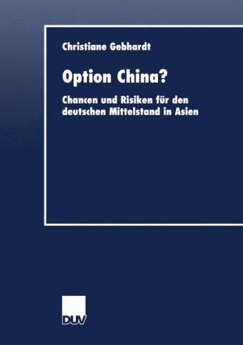 Option China? (DUV Wirtschaftswissenschaft)