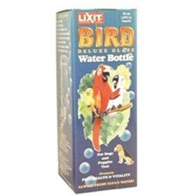 Lixit Glass Bird Water Bottle Medium, Pint