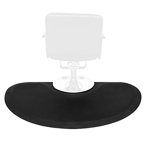 """Price comparison product image 5'x3' 1/2"""" Thick Barber Salon Anti Fatigue Floor Mat Beauty Supplier (Semicircle)"""