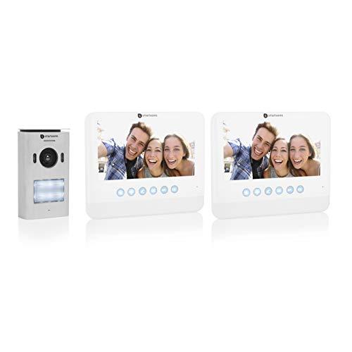 Système d'interphone vidéo Smartwares - Écran LCD