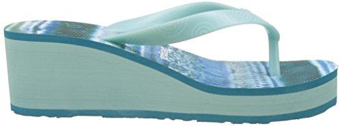 Desigual Lola Blue Aquarella, Sandalias Flip-Flop para Mujer Turquesa (turquoise 5013)