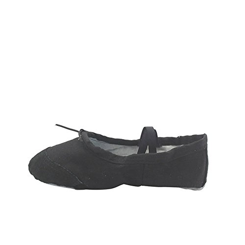 Home Shoes Indoor Msmushroom Black Canvas Yoga Classic Woman's xUUYnI