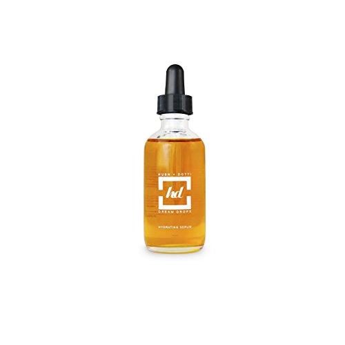 Hush + Dotti - 100% Natural Face Serum Skincare - Organic & Vegan, Calms Redness, Moisturizes, Made in USA - Dream (Tigi Dream Drops)