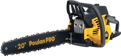 Poulan/Weed Eater PP5020AV 966055201 Gas Chainsaw, 20-In., 50cc