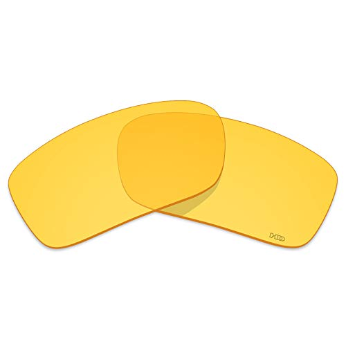Mryok+ Polarized Replacement Lenses for Oakley Si Ballistic Det Cord - HD Yellow