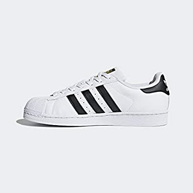 Adidas Original Superstar Sneakers For Mens White/Black (36)