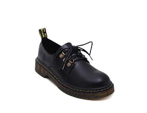 Puro Bomba Tamaño 39 Bajo Redondos De Roma Zapatos Cruz Zapatos Mujeres De 35 UE Corte Black Tacón Correas La De Casual De Zapatos Las Color Awv1xq5