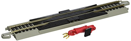 "(Bachmann Trains Snap-Fit E-Z Track 9"" Straight Terminal Rerailer with Wire)"