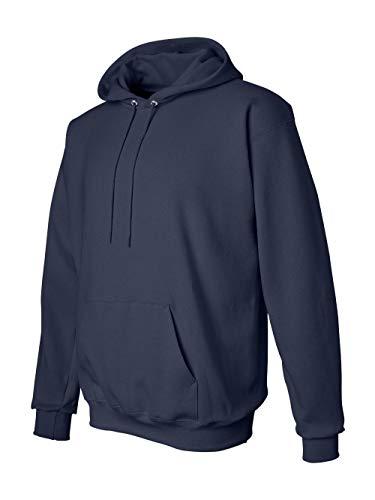 Hanes Ultimate Cotton Adult Pullover Hoodie Sweatshirt, Deep Navy, Small ()
