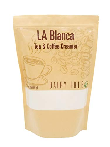 Non Dairy Coffee Creamer for Tea & Coffee | Gluten Free | Lactose Free | Soy Free | Nuts Free, LA Blanca Brand, Paleo & Keto Friendly, 2 Lbs / 32 Oz / 151 servings / 907 gram / bag ($1.01/Ounce)