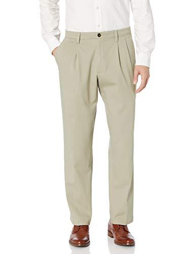 Dockers Men's Classic Fit Easy Khaki Pants - Pleated D3, Cloud (Stretch), 38 29