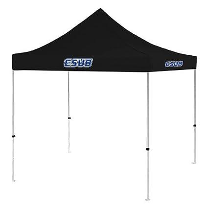 Image Unavailable  sc 1 st  Amazon.com & Amazon.com : Cal State Bakersfield 9 ft x 9 ft Black Tent u0027CSUB ...