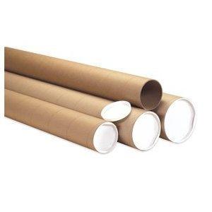 Aviditi P5060KHD Jumbo Mailing Tubes, 5'' x 60'', Kraft (Pack of 15) by Aviditi