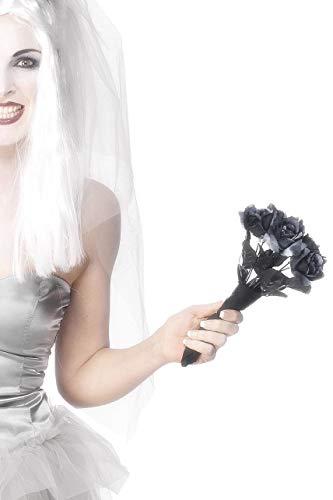 Smiffys Women's Corpse Bride Roses Bouquet Roses -