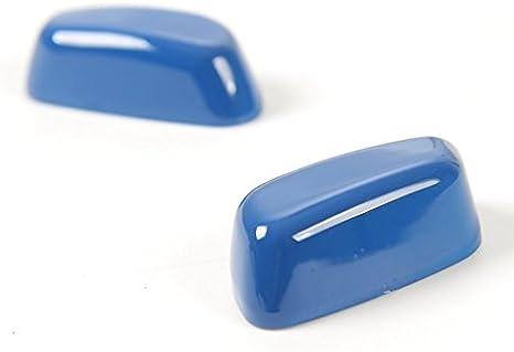 LVBAO Decoration Backrest Seat Adjustment Handle Frame Cover Trim for Chevrolet Camaro 2017 Backrest Seat Adjustment Handle Cover Trim Blue 3718 LHD