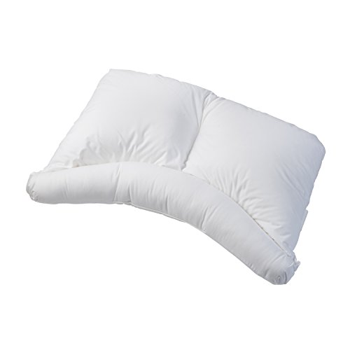 Healthsmart Side Sleeper Pillow Curved Center Lobe Side