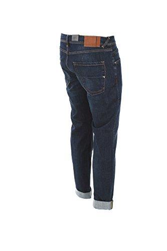 Jeans Uomo 0/zero Construction 35 Denim Fabaco/s Ln201 Autunno Inverno 2017/18