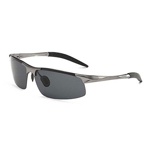 Moda de Metal Conduciendo Sol Polarizadas Gafas de UV400 B YANKAN de Marco Hombres Hombres de AdAROq