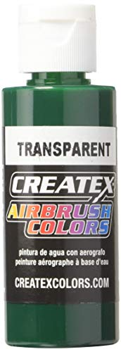 Createx 5109-02 2 oz Brite Transparent Airbrush Color, 2 Ounces, Green
