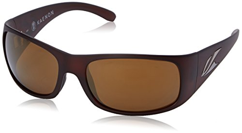 Kaenon Men's Jetty Polarized Rectangular Sunglasses, Gold Coast, 62 - 91 Sunglasses Sr Kaenon
