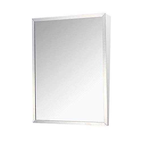 Fixed Tilt Mirror, Stainless Steel, 36